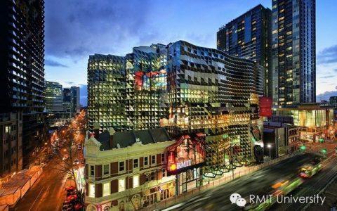 RMIT建筑专业位列世界Top10