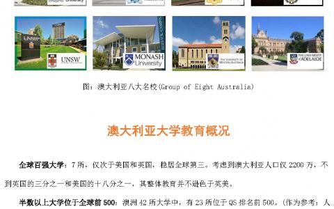 澳大利亚硕士留学及技术移民项目