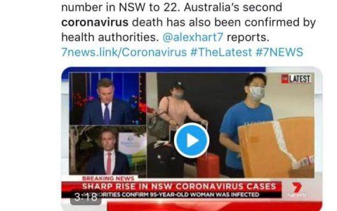 一夜新增6例,悉尼死亡首例! 人传人找不到源头,纸巾抢出新境界……