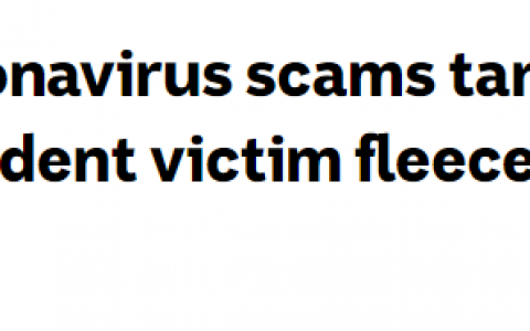 警惕!中国留学生被骗$1.38万澳币!疫情之下,骗子又开始耍新花样了!