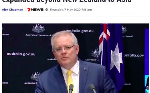 澳洲考虑随后解封中日韩!给留学生包机返澳?