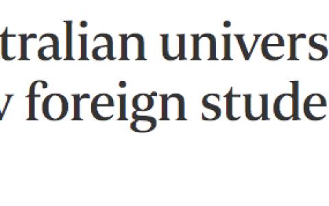 澳洲八大齐发力!提议留学生返澳计划,包机加隔离确保安全!