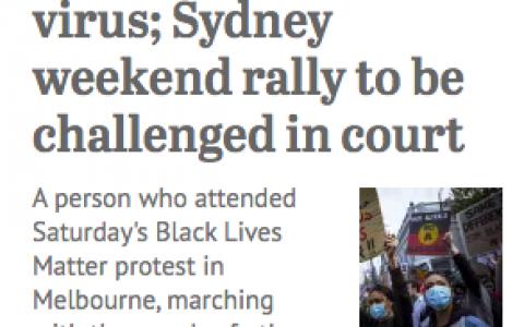 提前解封黄了!抗议游行者有人确诊阳性,恐有另一轮爆发。