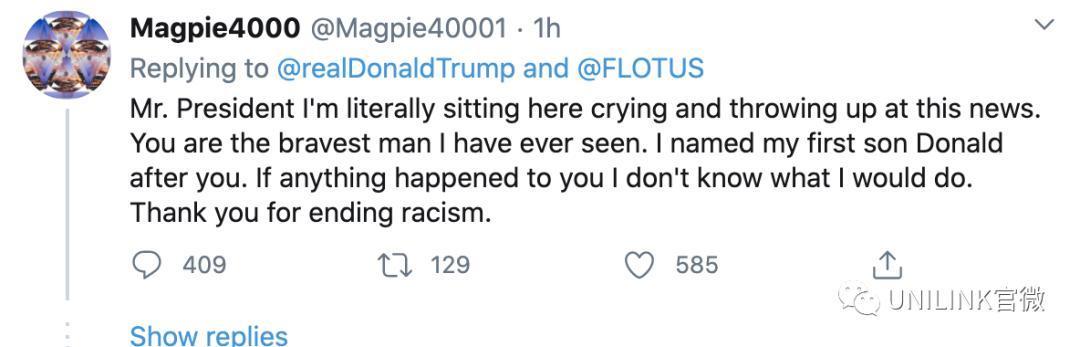 """""""黑人抬棺已就位""""!特朗普确诊,外国网友的反应亮了!"""