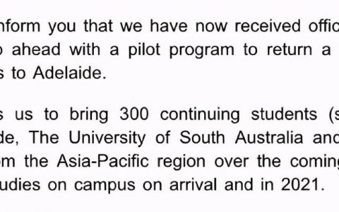 官宣!300名留学生获批返澳!费用细节曝光!又有大学要裁员!悉尼机场CEO:明年初向这些国家开放边境!