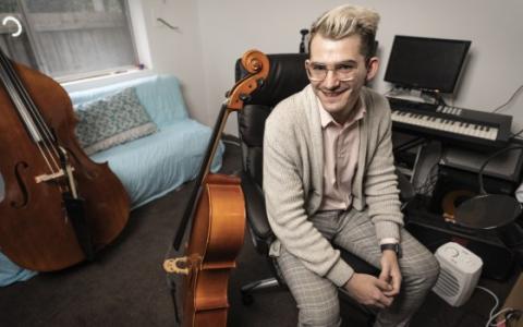 教学工作引起了前音乐家的共鸣